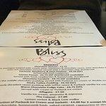 beautiful menu!