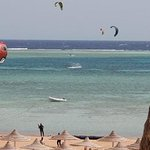 Kite Addicts Kitesurf School Sharm El Sheikh with the best kiteboarding and kitesurfing conditions all year round in Sharm El Sheikh. The kiteboarding riding area being in a flat shallow waist-deep Lagoon so it's difficult to get into trouble which makes the place ideal for all levels.