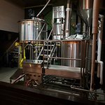 And here we have the brewhouse
