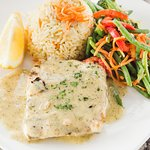 Lemon Dill Halibut Special