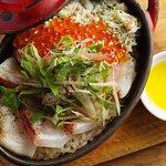 [めし] 漁師風ビストロ飯~天然真鯛、蟹、いくら