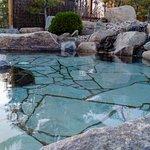 Bain de pierre naturelle