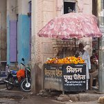 Flower seller, Nagaur