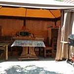 Летняя кухня для самостоятельной готовки.