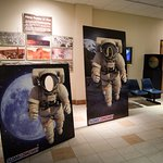 Have fun with the astronaut stand-ups in the lobby, and don't forget to share your photos with #LookUpLongway.