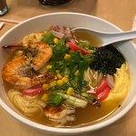 Garlic Shrimp Saimin