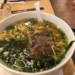 Oxtail Soup with Saimin noodles
