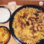 hank you for your yummy feedback @tastemytrends! This biryani is mastani!❤️ Recently, I ordered chicken biryani from @gourmetfoodbowl and they are having so much variety even one bowl of biryani is enough for two people. ⠀ If you're biryani lover then do order from @gourmetfoodbowl and thanks me later!😍