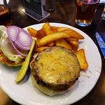 Stadium burger - delish!