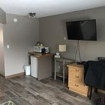 Some updated photos of the nicely renovated motel. The old photos make this motel look awful. Do not be afraid to step here!
