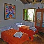 Bedroom in the dependance