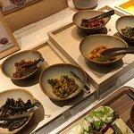 朝食ビュッフェ(名古屋のお漬物たち)