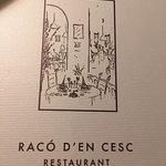 imagen Raco D'en Cesc en Barcelona