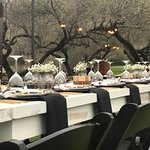 The ranch helped us coordinate this beautiful event decor.