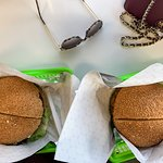 Beef Burger and Chicken Burger