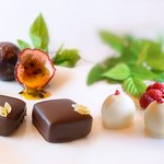 Delicious hand made chocolates