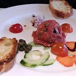 Buffalo tartare (could be gluten free if toast is omitted)