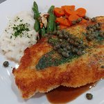 A classic and guest favorite, the German Chicken Piccata