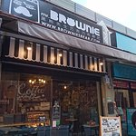 布朗尼甜品店室外座位
