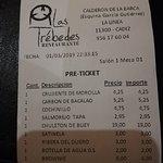 Foto van Restaurante Las Trebedes