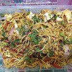 Chinese garlic noodles