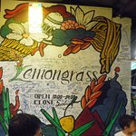 Lemongrass sign