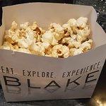 Complimentary popcorn