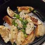 Pork, beef, and chicken dumplings