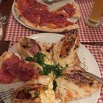 4 eckige pizza & pizza parma
