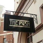Pub sign.