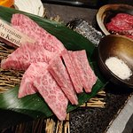 Premium wagyu beef, extremely tender