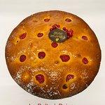 L'incontournable Cake Citron/Framboise....  (version gâteau d'anniversaire)
