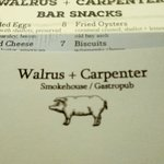 Valokuva: Walrus + Carpenter