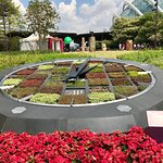 Lovely working Floral clock