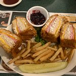 Monte Cristo Sandwich - I could only eat half
