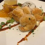 Coconut prawn starter - great flavours!