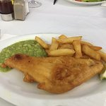 Pimms fish and chips