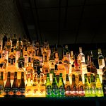 Showroom cocktail bar