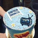 Gilmore Girls Cake!