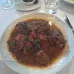 Goat, tasted like lamb shanks but different
