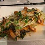salade de crevette (légumes ultra frais)