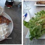 Photo : Crêpe Andouille de Guéméné...sur nid de salade. (petit bémol, j'aurais ciselé la salade