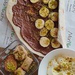 Desserts: chocoba, baklava et mouhallabieh