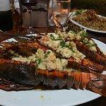 Lobster dinner at Kmbute