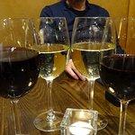 Two reds and two whites - Ecco Vino Edinburgh