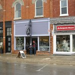 Easy to find, the Cheese Gallery is located in downtown Thornbury on Bruce Street, just south of
