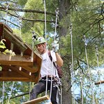 Tree top obstacle course and canopy tours.