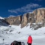 Das tolle Bergpanorama der Sellaronda ist einfach beeindruckend....
