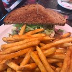 Great Chicken sandwich with excellent fries