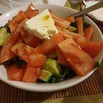 Small Village salad dish.